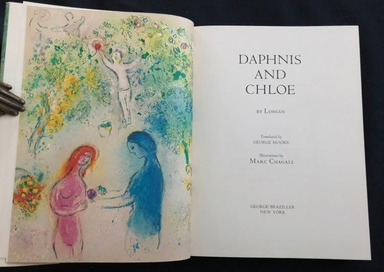 Marc Chagall - Daphnis and Chloe (Book)