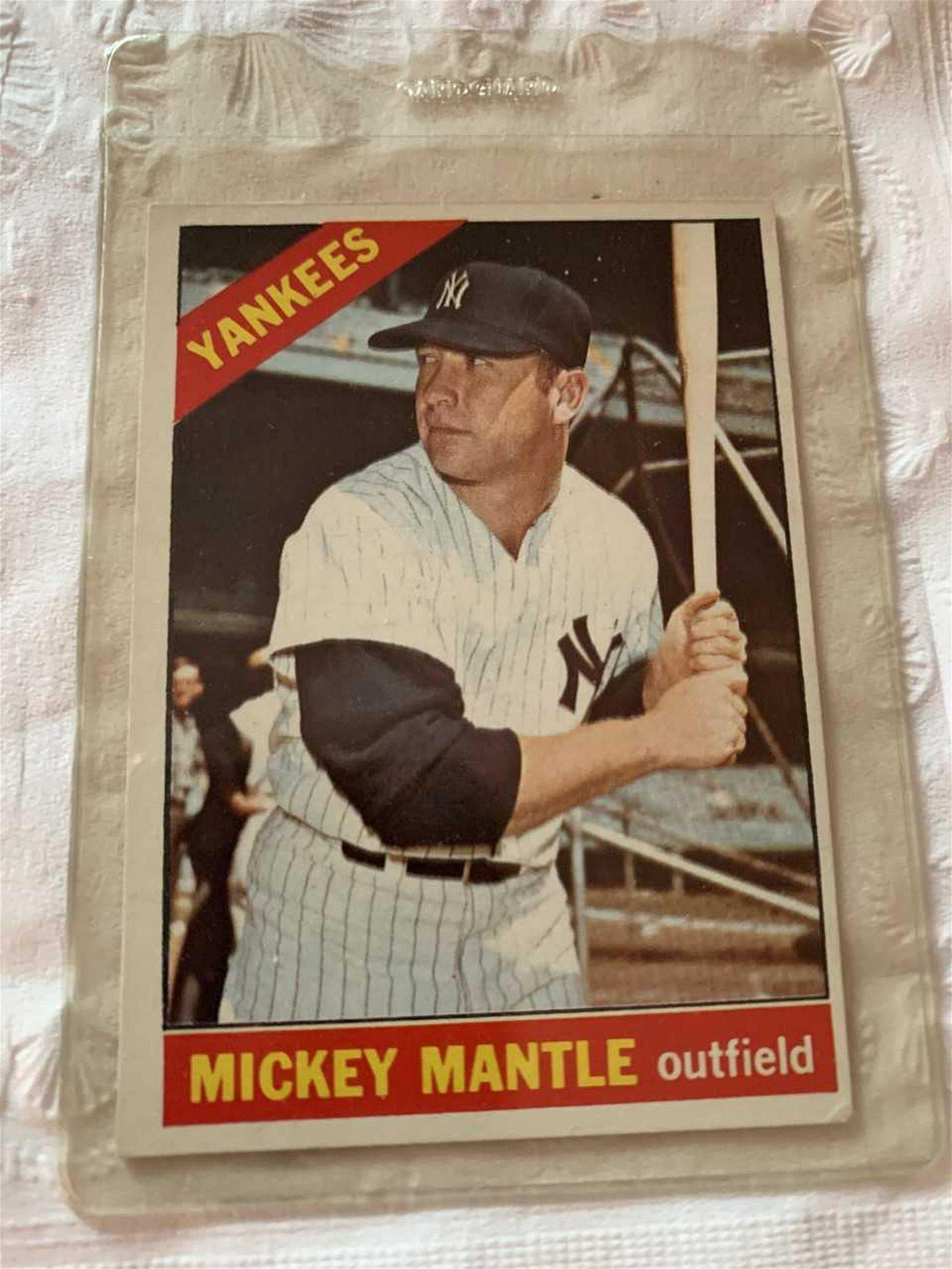 1966 Topps #50 Mickey Mantle Baseball Card