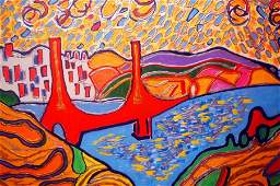 Lisa Mee-Golden Gate Bridge