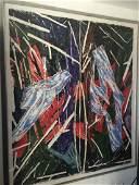 Charles Arnoldi - Untitled (diptych)