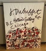 Dubuffet  Holland Gallery Poster