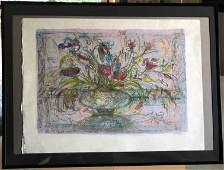 Edna Hibel - Floral Mystic