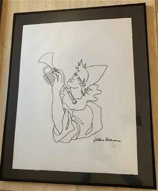 """Jean Marais - """"Le Clown Musicien"""" (The Musician Clown)"""