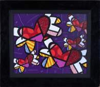 Romero Britto - Love is in the Air Too