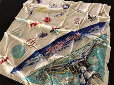 Chicago OHare International Airport Hand Rolled Scarf