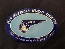 Pan American World Airways PAA Sticker  Decal  Luggag