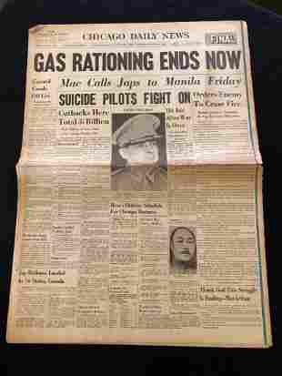 Chicago Daily News 1945