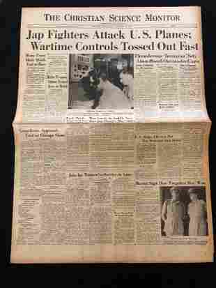 The Christian Science Monitor 1945