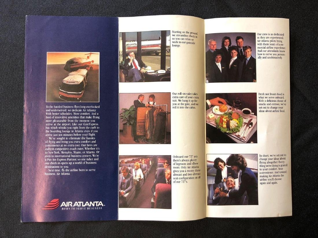Air Atlanta Timetable 12/01/85 - 3