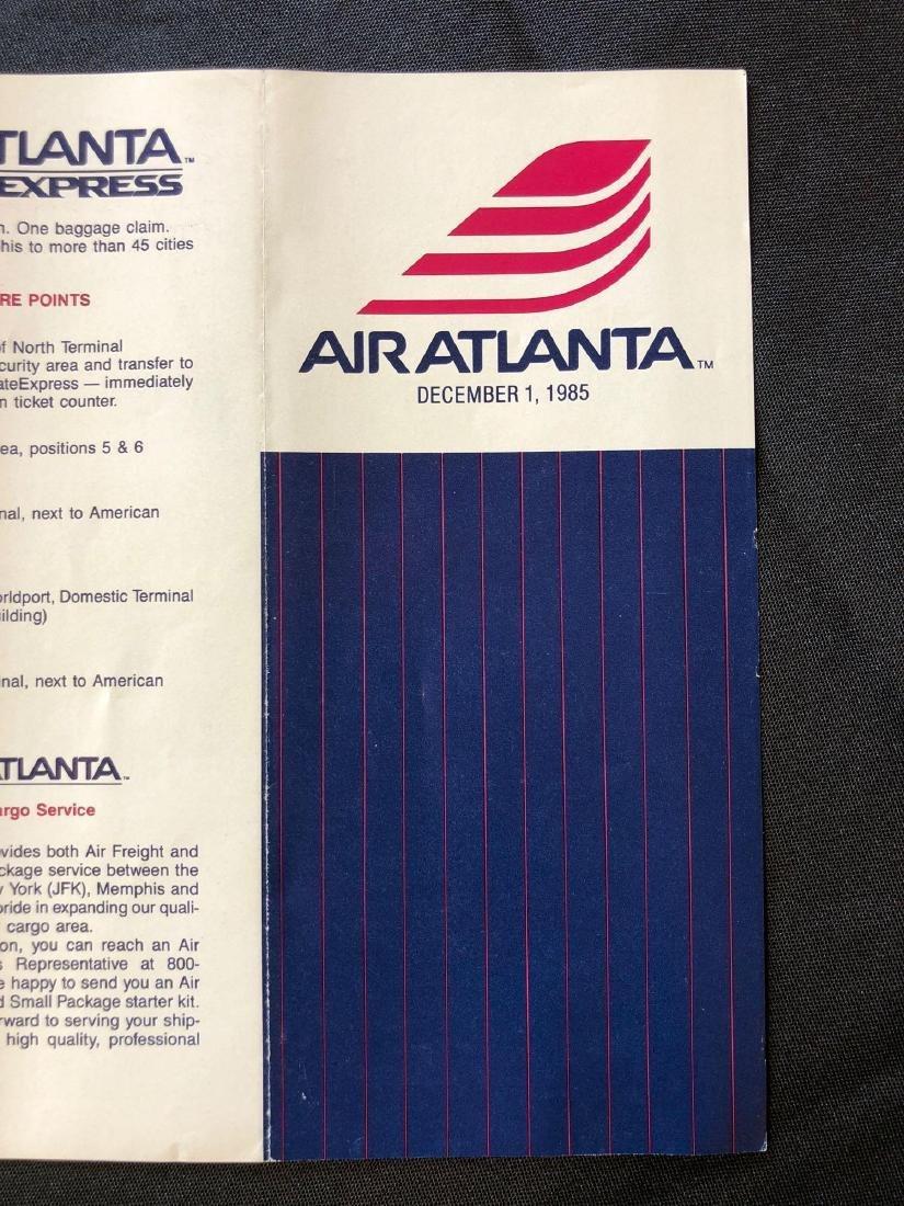 Air Atlanta Timetable 12/01/85 - 4