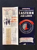 Eastern Air Lines system timetable 2158