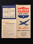 United Airlines System Timetable 71046
