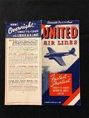 United Airlines System Timetable 7/5/35