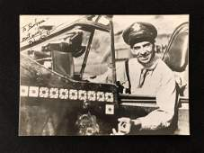 Flying Tigers Bob Scott Autographed Photo