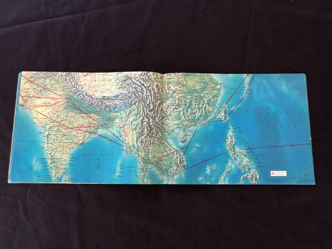 Pan American Jet Clipper Route Maps 1964 - 3