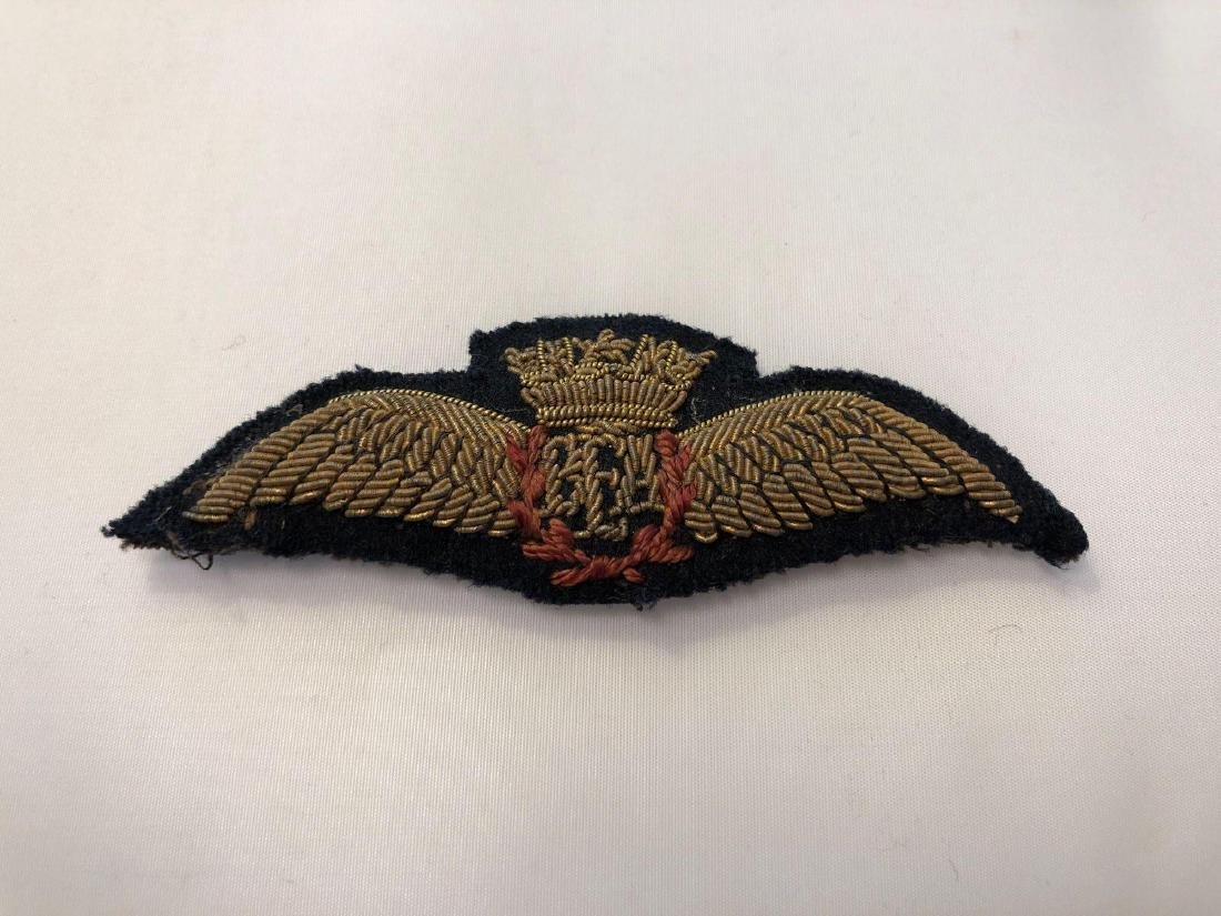 British Airways Embroidered Pilot Captains Badge