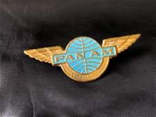 Pan American Airlines 1968 Junior Clipper Stewardess Wi