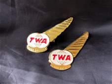 TWA Airlines 1960's Junior Hostess Wings