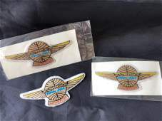 Pan American Airlines 1950's Junior Flyer Patches