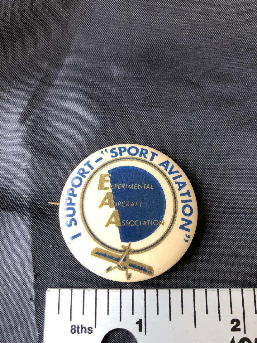 E.A.A I Support Sport Aviation Experimental Aircraft Pi - 3