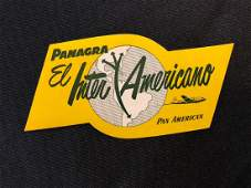 Pan American 1950s Panagra El Inter Americano Luggage