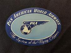 Pan American World Airways PAA Sticker  Decal  Luggag