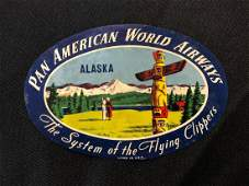 Pan American World Airways PAA Alaska Sticker / Decal /