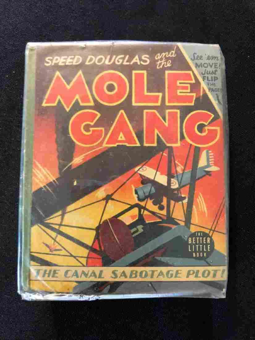 "Better Little Book ""Speed Douglas and the Mole Gang"" 19"
