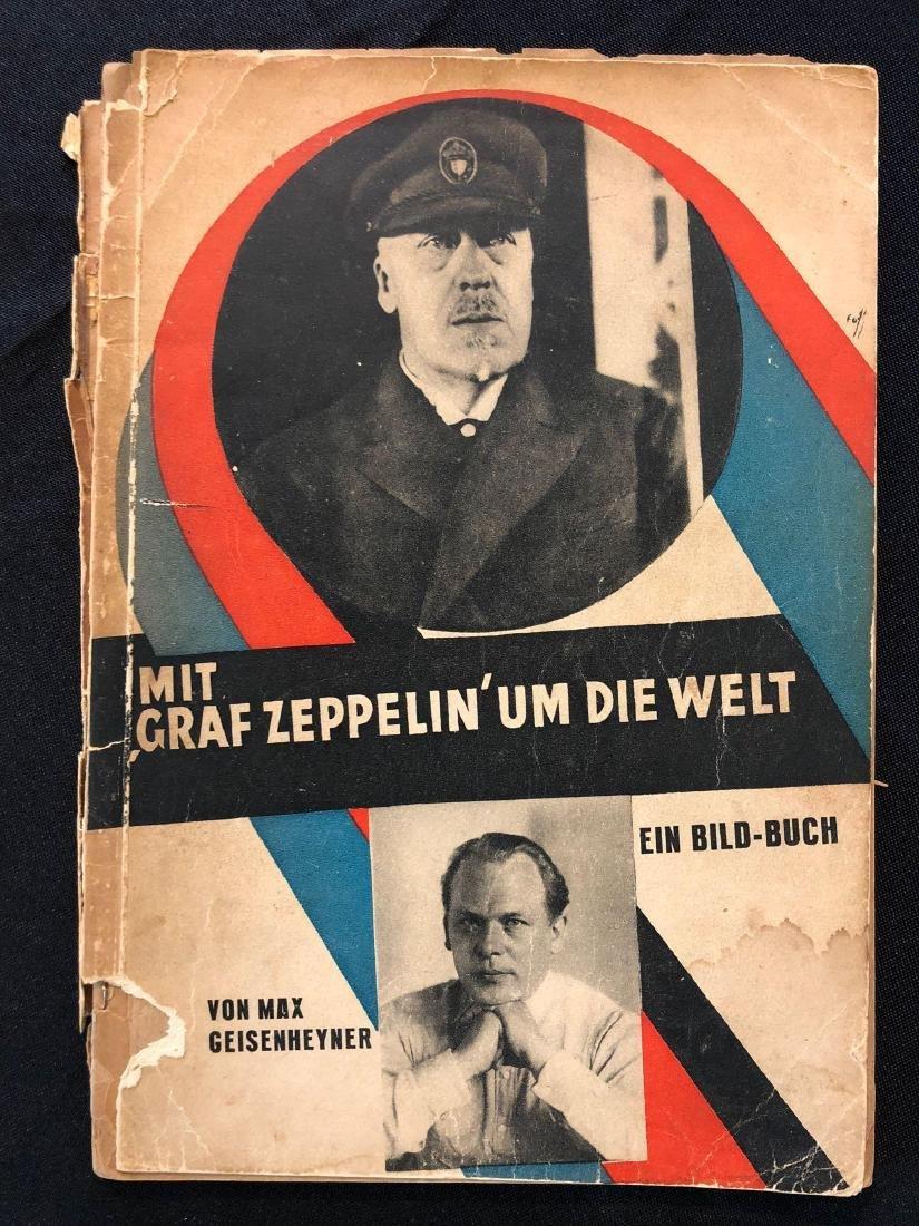 """German Magazine """"Mit Graf Zeppelin Um Die Welt"""" """"With G"""