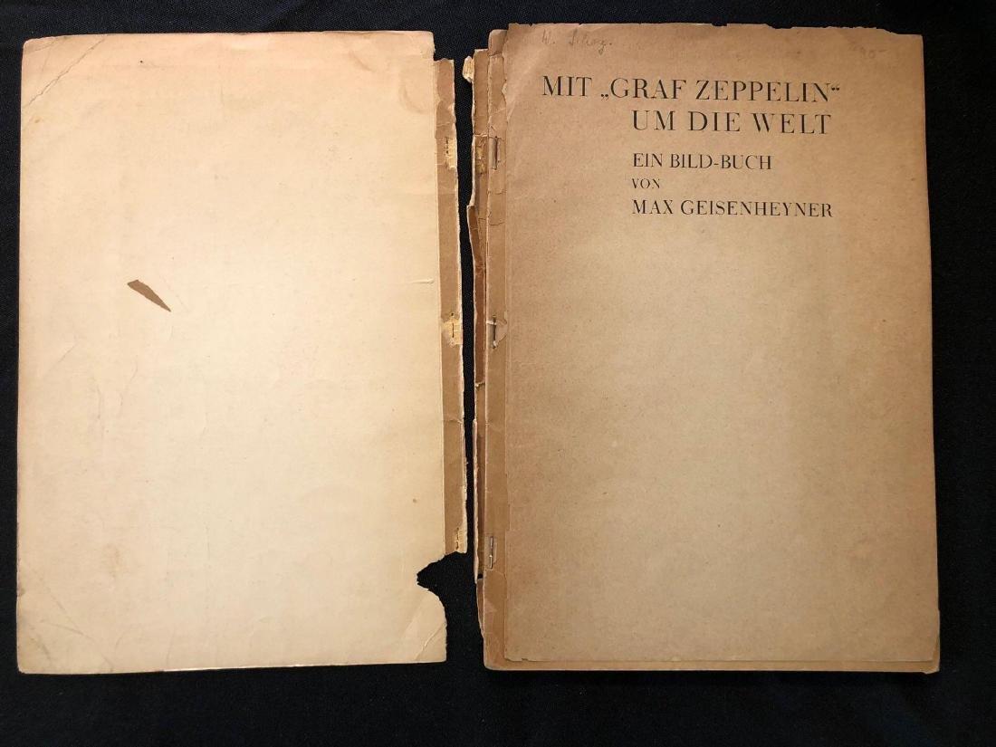"""German Magazine """"Mit Graf Zeppelin Um Die Welt"""" """"With G - 2"""