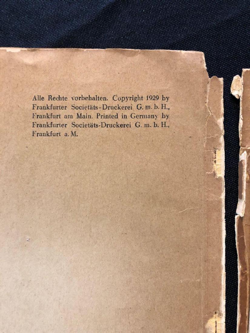 """German Magazine """"Mit Graf Zeppelin Um Die Welt"""" """"With G - 3"""