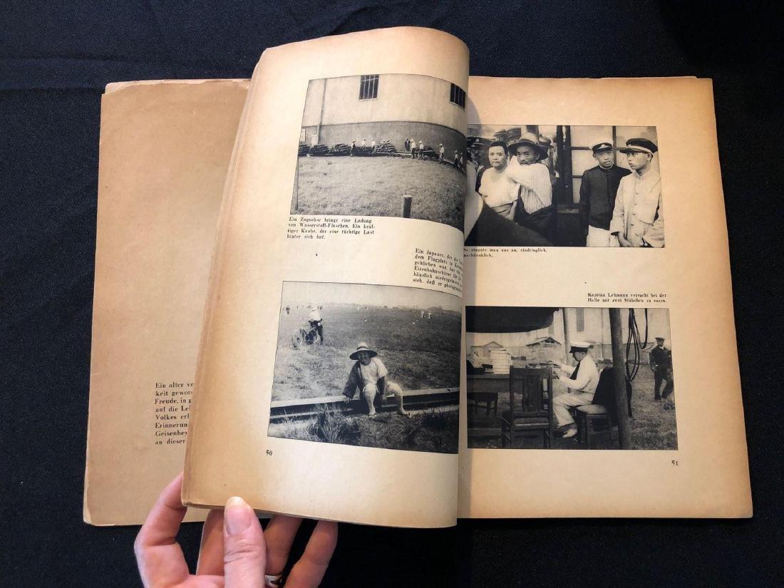 """German Magazine """"Mit Graf Zeppelin Um Die Welt"""" """"With G - 5"""