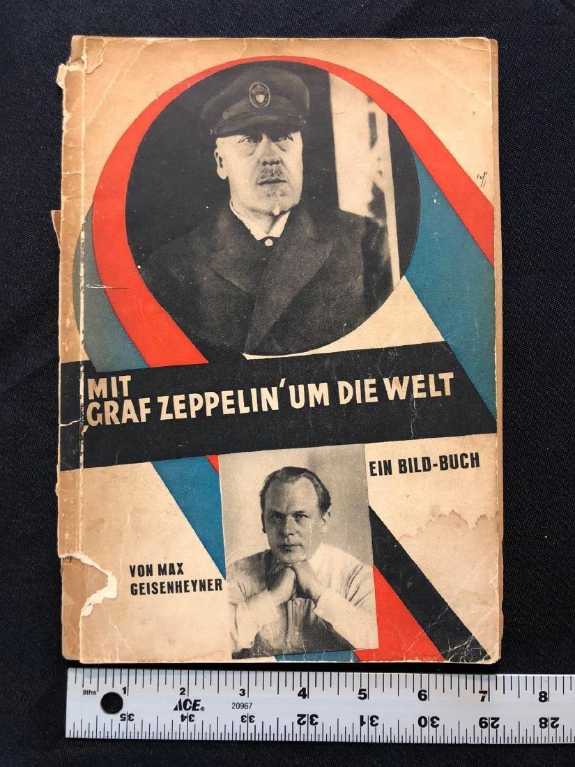 """German Magazine """"Mit Graf Zeppelin Um Die Welt"""" """"With G - 9"""