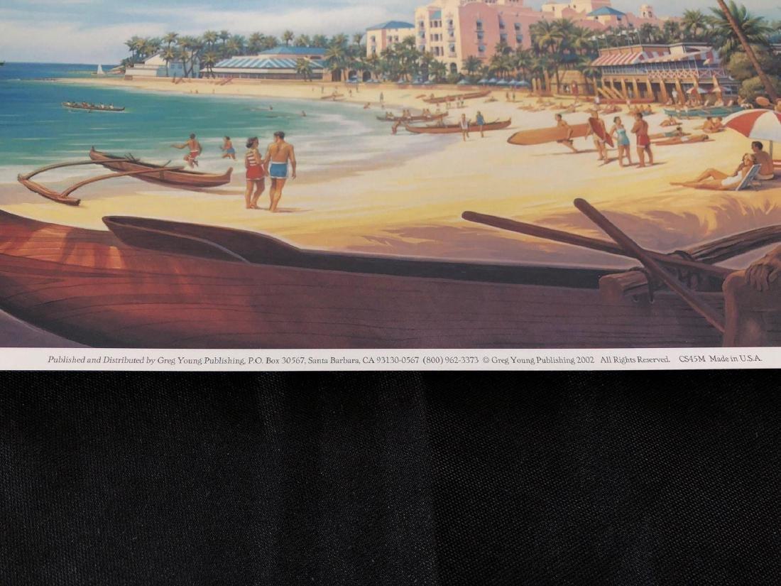 """Waikiki Beach Aloha 13"""" x 8 3/4"""" Poster - 2"""