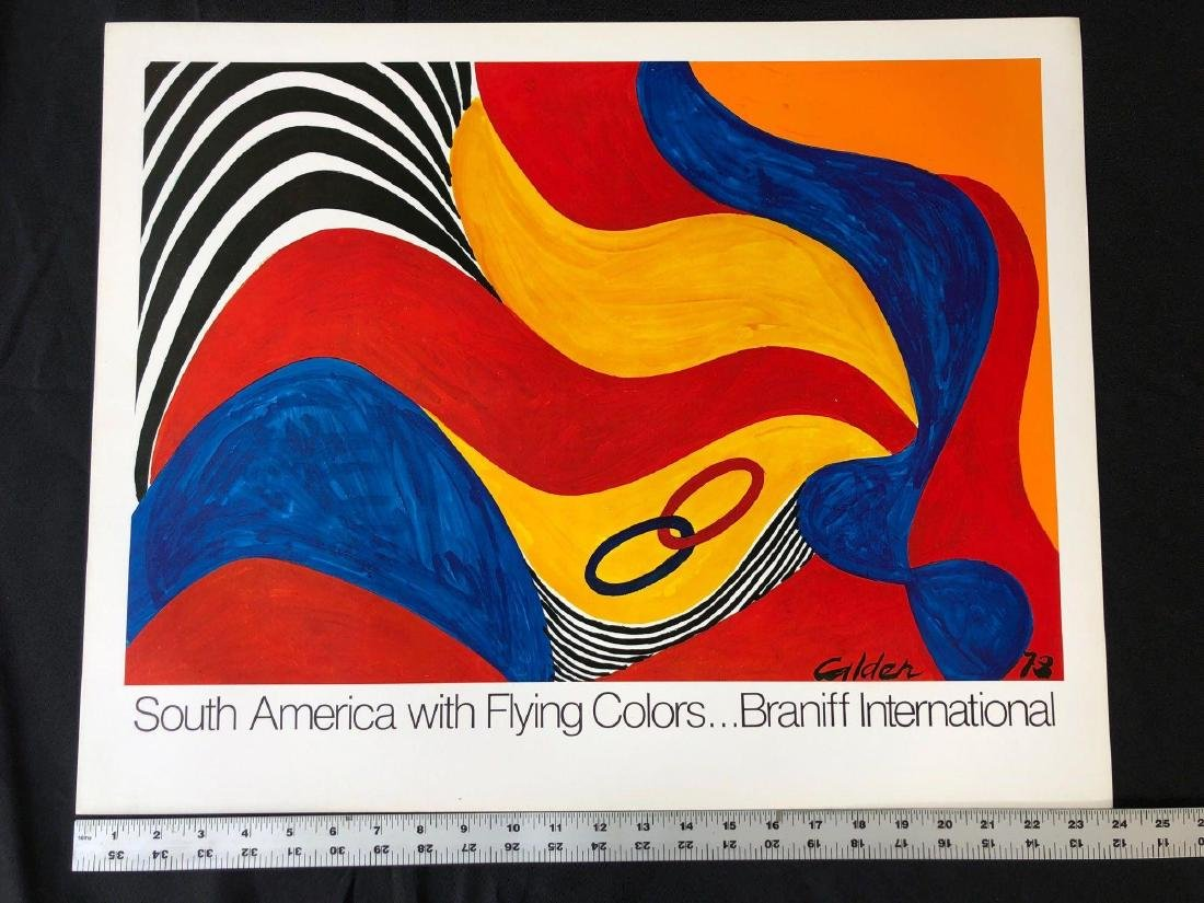 South America with Flying Colors Poster - 2