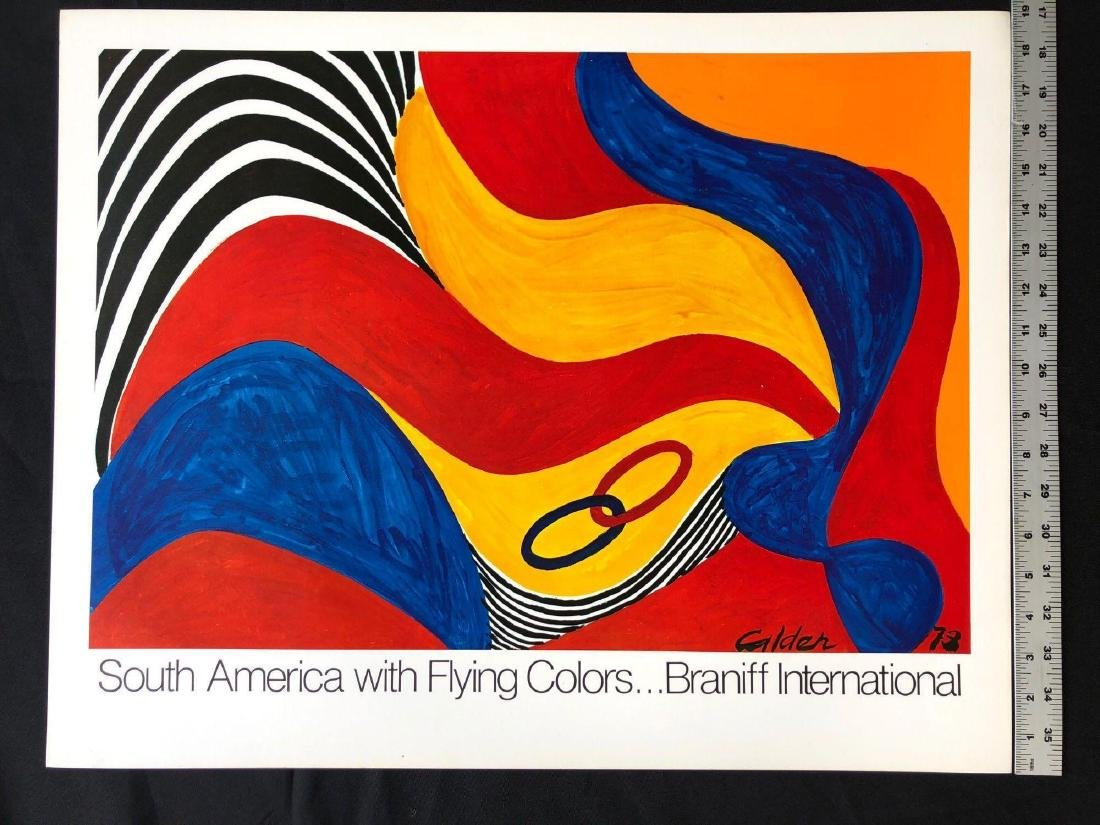 South America with Flying Colors Poster - 3
