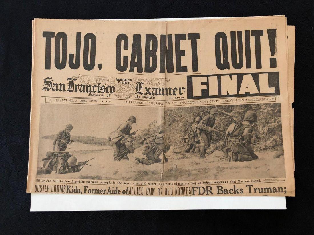 San Francisco Examiner 1944