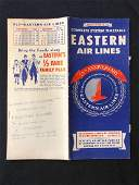 Eastern Air Lines system timetable 10/28/56