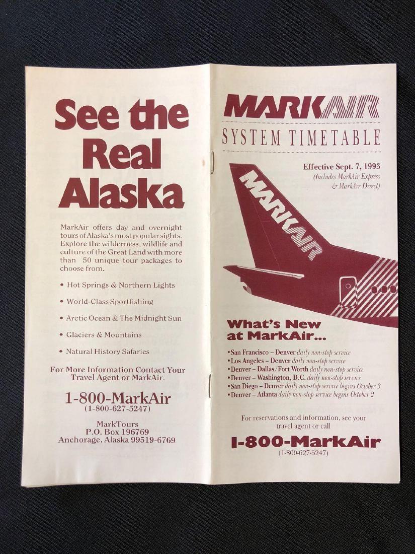 MarkAir System Timetable 9/7/93