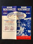 Northwest Orient Airlines System Timetable 03/1/59
