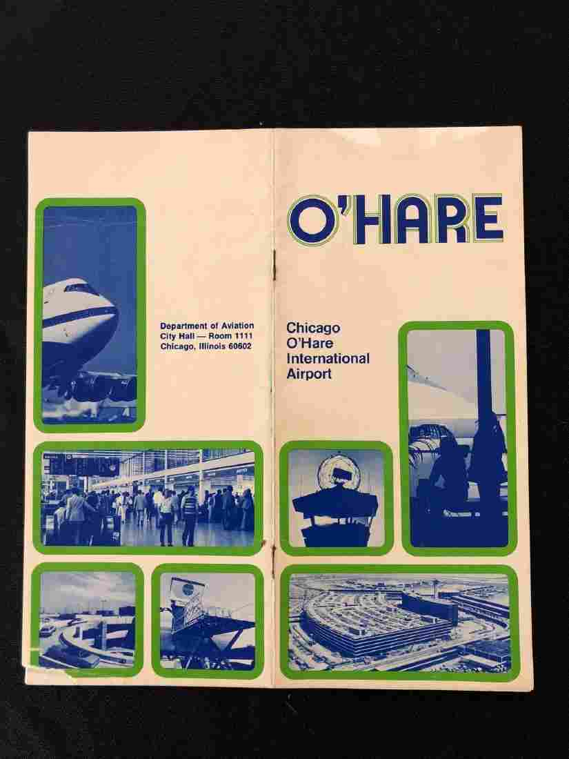 Vintage O'Hare International Airport Site Map