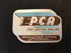 Pennsylvania Central Airlines PCA Sticker  Decal  Lug