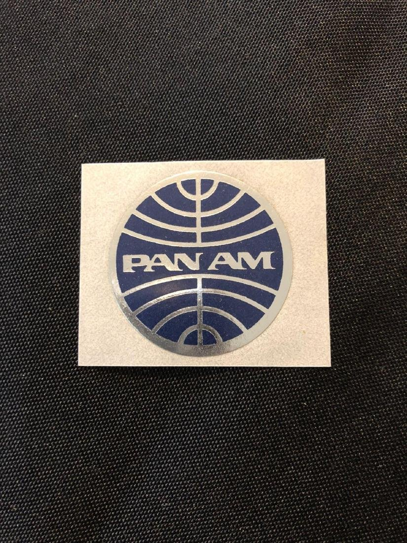 Pan Am Sticker / Decal / Luggage Label