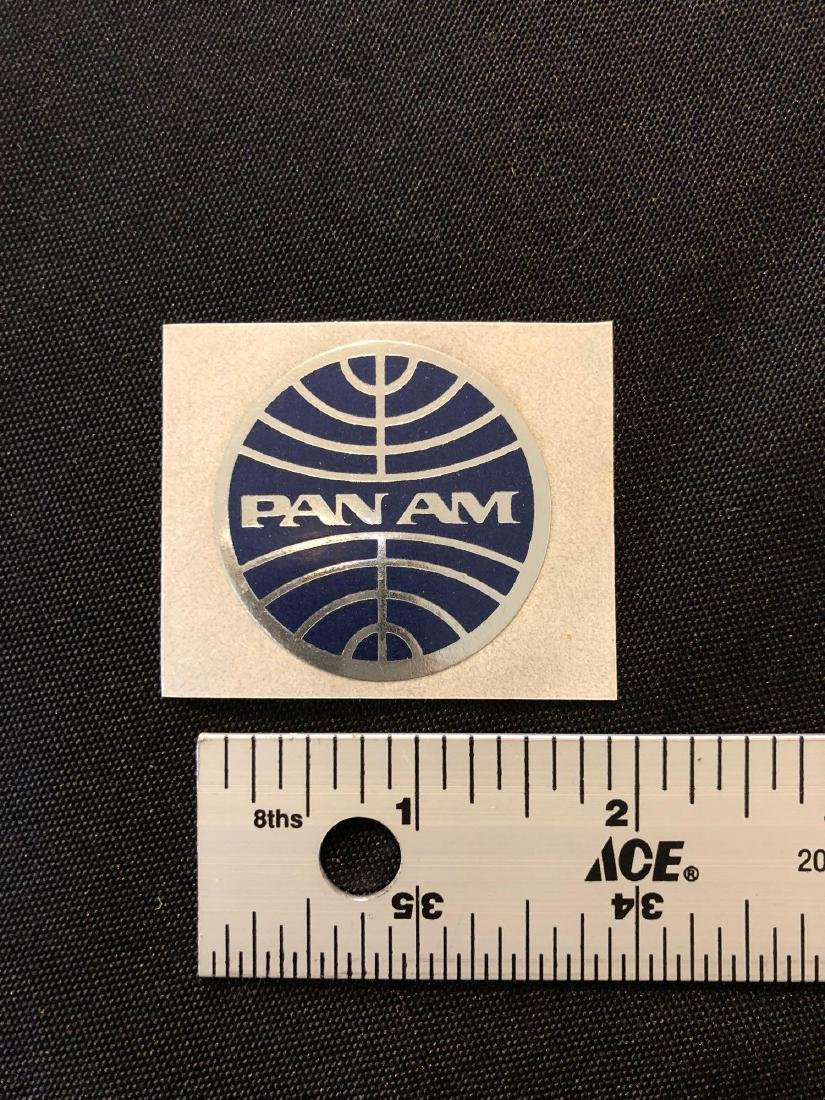 Pan Am Sticker / Decal / Luggage Label - 3