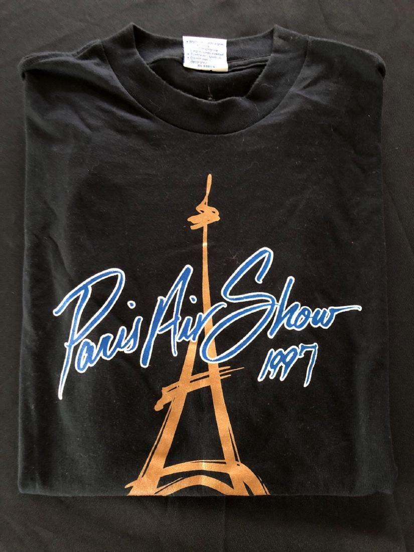 Paris Air Show 1997 Adult T-Shirt XL