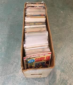 Long box wMANY Key Marvel DC Comics 250 comics