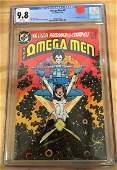 Omega Men #3 - CGC 9.8 w/WHITE Pages - 1st LOBO! Major