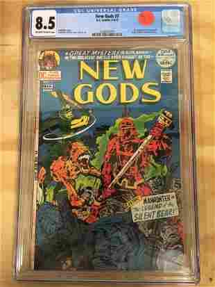 New Gods 7 CGC 85 1st Steppen Wolf KEY