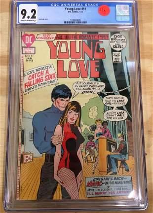 Young Love 91 CGC 92 HTF