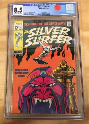 Silver Surfer 6 CGC 85 High Grade Silver Age